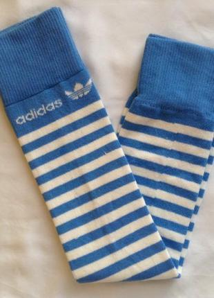 Высокие носки-гетры adidas originals®. оригинал. хлопок.