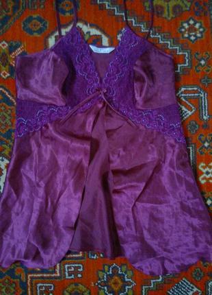 Красивый  топ, майка, одежда для сна, р-р 12-14  essentials