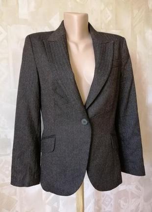 Классический пиджак великолепного качества от zara