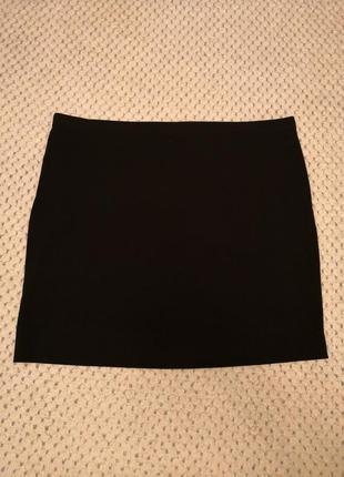 Трикотажная юбка мини