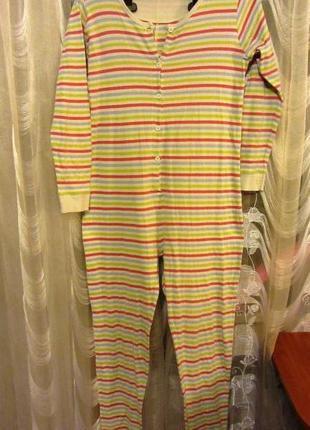 Трикотажный человечек, пижама для сна на 10-11 лет