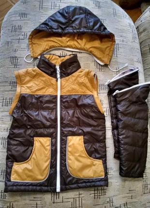 Лёгкая деми куртка трансформер
