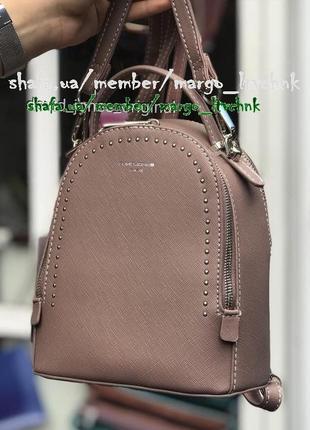Клатч-рюкзак david jones 5806-2 темно-розовый