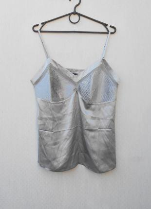 Шелковая майка  блузка для дома с сна  laura clement