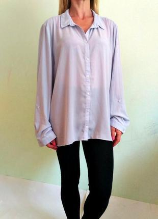 Легкая блуза,рубашка свободного кроя 20