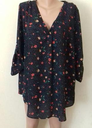 Блуза с принтом большого размера george
