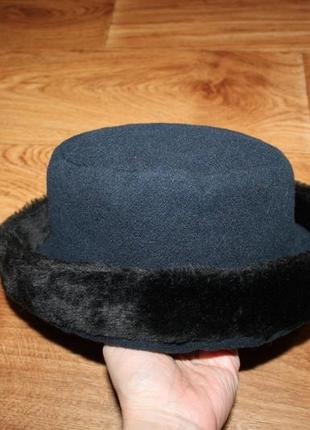 Новая теплая шапка италия