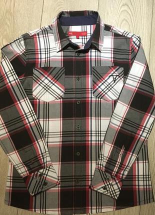 Рубашка в клеточку edc by esprit размер м