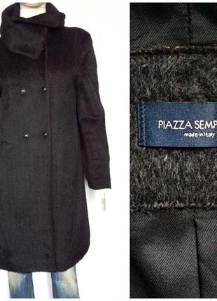 Piazza sempione italy облегчённое полупальто альпака шерсть