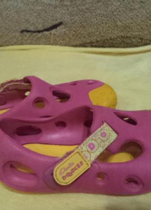 Аквашузы кроксы кларкс 16 см стелька