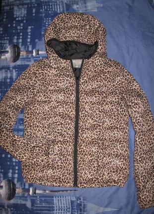 Утепленная куртка с принтом chillin crop