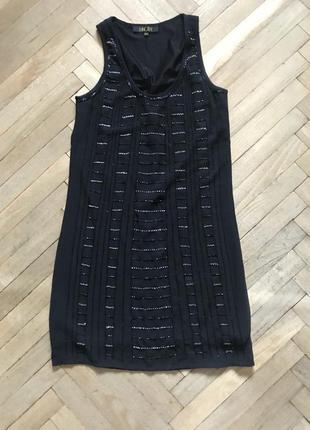 Маленькое черное платье в ретро стиле 20-х incity