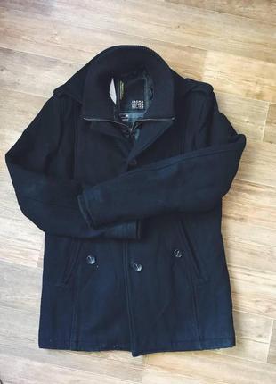 Пальто с подкладом (отстегивается) зимнее jack & jones