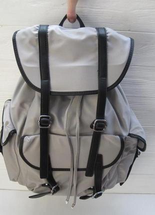 Рюкзак тканевый pelletteria cesily 7293 серый