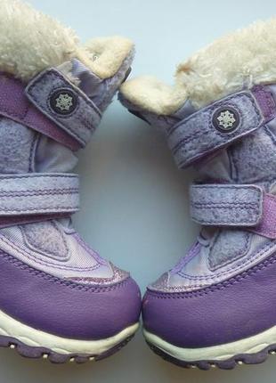 Термо сапожки b&g, ботинки, 23 розмір, стелька - 15,2 см