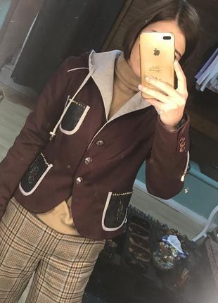 Пиджак в спортивном стиле италия justr