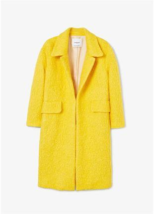 Новое  шерстяное пальто с/м