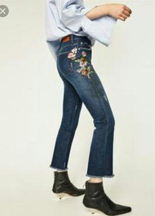 Стильненькие джинсики zara, коллекция этого года