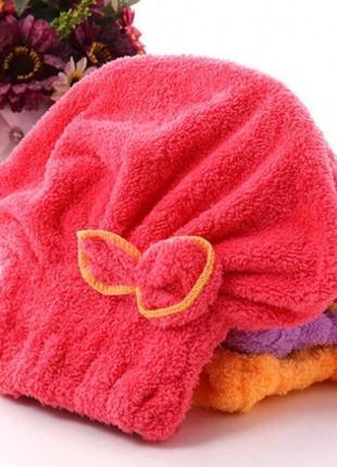 Шапочка - полотенце для волос, тюрбан