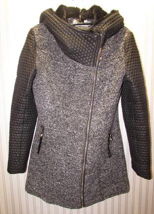 Теплое стильное пальто!