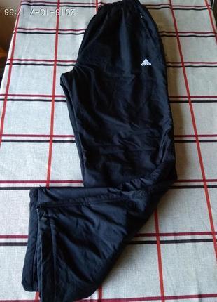 Большой размер! новые утепленные штаны adidas ( турция) 3xl