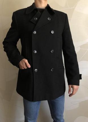 Пальто на синтепоне с меховой подстежкой cavallotti