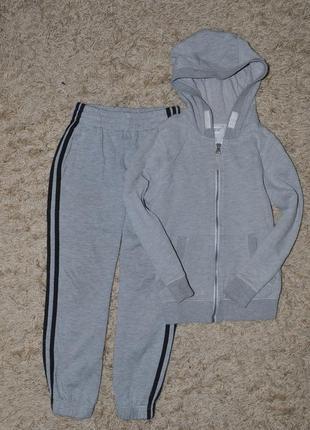 Спортивный костюм f&f и adidas на 7-8 лет