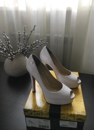 Белые туфли antonio biaggi 35 размер свадебные туфли нарядные туфли