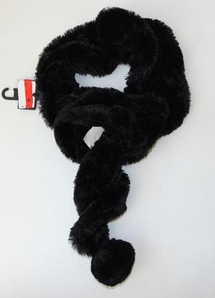 """""""плюшевый"""" шарф c&a германия"""
