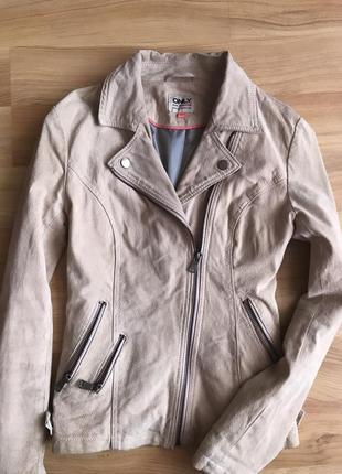 Куртка косуха кожанка с замши
