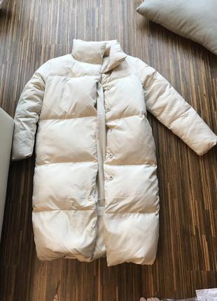 Зимнее пуховое пальто mexx  38 р новое