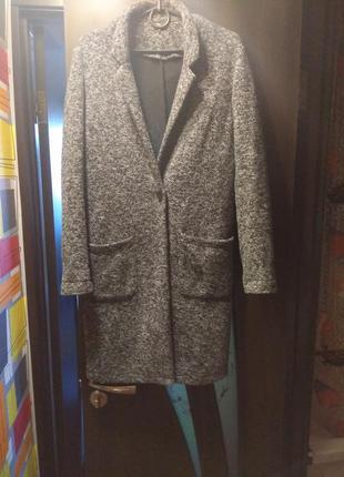 Вязаный кардиган легкое пальто