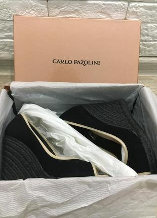 Туфли carlo pazolini с французским носком