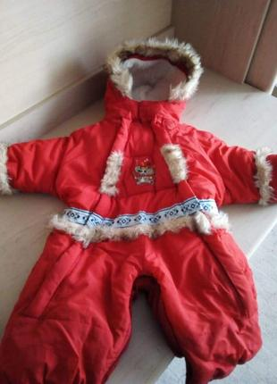 b4381e5c72cb Зимние комбинезоны на 1 год, для ребенка, детские 2019 - купить ...