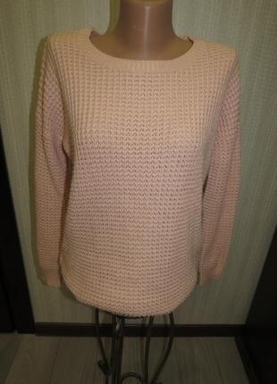 Пудровый свитер оверсайз tally waijl
