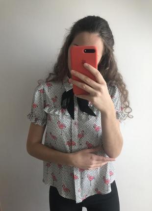 Блуза блузка zara