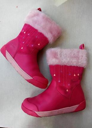 Дууууже красиві шкіряні чобітки для дівчинки. підписуйтесь, оновлення регулярно)1 фото
