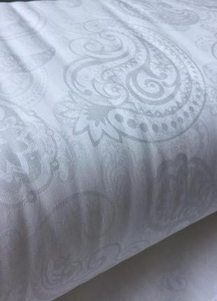 Євро комплект постільної білизни з сатин-жаккарду з простирадлом на резинці, шана-текстиль