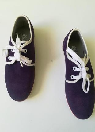 Кожаные туфли мокасины camenae