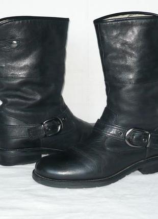 Bama индия качество и комфорт сапоги ботинки полусапожки кожаные тёплые зимние