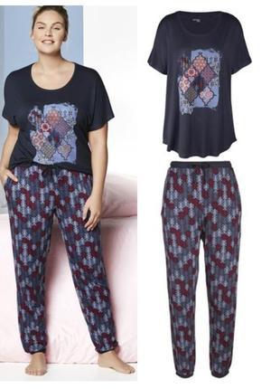 9f59eb94438f6 Красивая женская пижама домашний костюм esmara германия, футболка штаны,  хl, ххl