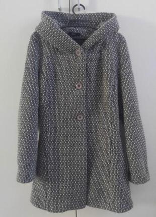 Шерстяное пальто s-m