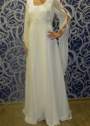 Срочно!!!шикарное новое свадебное платье dolce vita-м-ка.