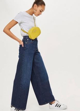 Стильные джинсы-кюлоты