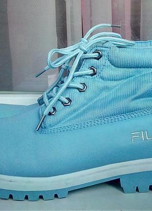 Стильные фирменные ботинки fila(original).