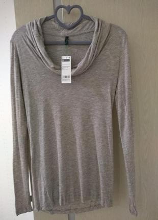 Базовая вещь в гардеробе, кофточка benetton, блуза