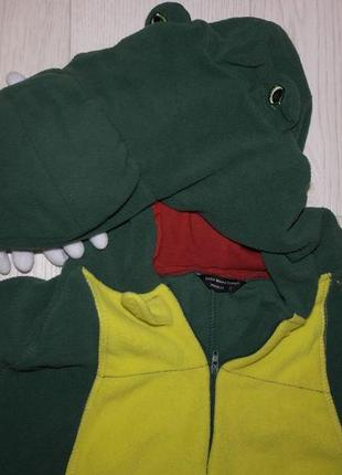 Cedar wood state кигуруми крокодил дракон пижама человечек комбинезон карнавальный