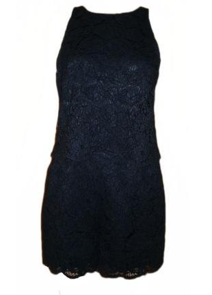 Ромпер кружевной комбинезон шорты вечерний нарядный h&m размер 14 наш 46-48