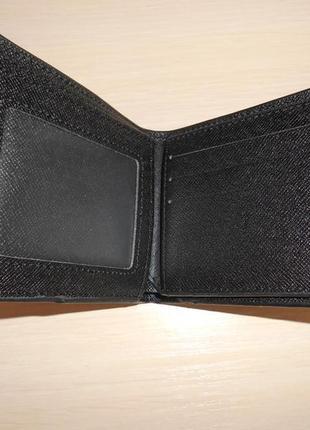 Мужской кошелек, портмоне, бумажник mont blanc, кожа, италия 99114
