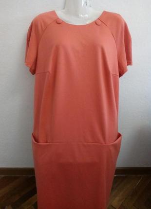 Плаття-сарафан зимове, тканина з добавкою шерсті.